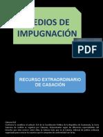 MEDIOS DE IMPUGNACIÓN VII