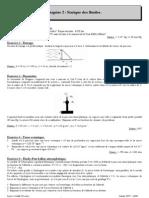 Thermodynamique exercices T2 - Statique des fluides