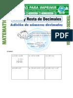 Ficha-Suma-y-Resta-de-Decimales-para-Tercero-de-Primaria