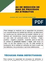 TÉCNICAS DE MEDICIÓN DE CAPACIDAD DE PROCESOS PARA ATRIBUTOS.pptx