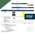 Cotización Bristle Blaster® 057-2018, INDIGO BOLIVIA-MSP rev1