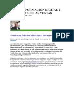 LA TRANSFORMACIÓN DIGITAL Y EL FUTURO DE LAS VENTAS