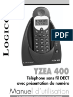 Logicom Yzea 400 Notice FR