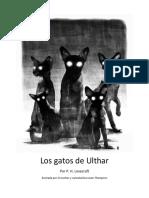 Gatos de Ulthar Cómic