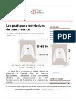 Les pratiques restrictives de concurrence – Cours.pdf