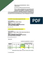 Ejercicio 1 - Metodo simplex primal