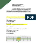 Ejercicio 3 - Método simplex con variables artificiales