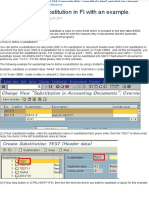 How to define a substitution in FI with an example. - ERP Financials - Community Wiki.pdf