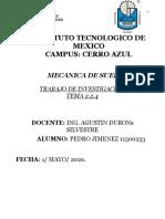 MECANICA DE SUELOS UNIDAD 2.2.4