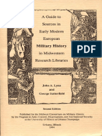a guide to sources in early modern mil hist