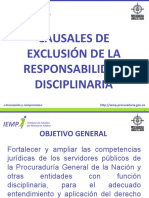 TERCER TEMA CAUSALES DE EXCLUSION version final.ppt