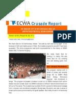Brief Report on Ibadan City Wide Crusade Held at Amphi Theatre Adamasingba