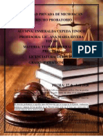 Derecho probatoio