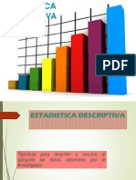 ESTADISTICA DESCRIPTIVA  sesion 2 1