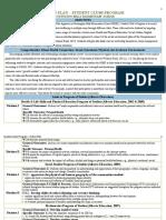 student clubs program -action plan educ 551