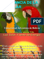 9 Luz Solar