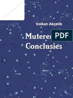 Muterende Conclusies
