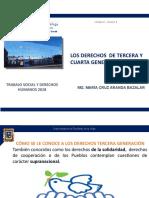 3 LOS DERECHOS DE 3a. y 4ta. GENERACION -