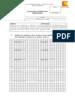 EVALUACION DIFERENCIADA  multiplicación 6 2017