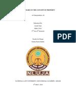 jurisprudence  PROPERTY