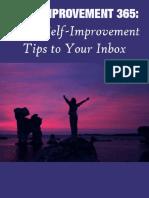 365+Self+Improvement+Tips