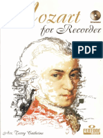 mozart for recorder12pages