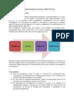 SINTESÍS DE INVESTIGACIÓN ACCIÓN Y GRUPO FOCAL (1)