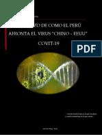 """UN ESBOZO DE CÓMO EL PERÚ AFRONTA EL VIRUS """"CHINO – EEUU"""" COVIT-19."""