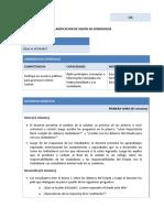 SESIÓN DE APRENDIZAJE FCC1