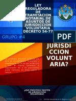 EXPOSICION DE LA JURISDICCION VOLUNTARIA NOTARIADO