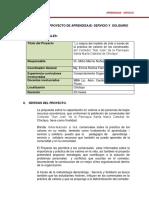 Proyecto APS  I   9.04.2015USS