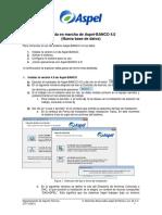 Puesta en marcha de Aspel-BANCO 40 Nueva base de datos