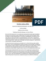 Grande Audez y Bello 3.0, Pierre Rodrigue.