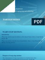 warpstopmotion