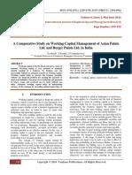 AComparativeStudyOnWorkingCapitalManagementOfAsianPaintsLtdAndBergerPaintsLtdInIndia(549-553)
