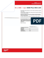 SDS PLUS 10x455