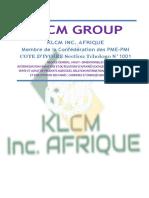Convention de Partenariat Klcm Group Sarl Etkamwat-s-converti