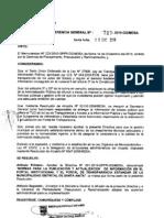 Normas para la Publicación y Actualización de la  Pagina Web
