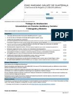 Ejemplo de formulario del trabajo de graduacion de derecho mariano galvez