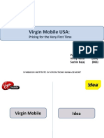 Virgin Mobile USA -- Pricing for the Very First Time