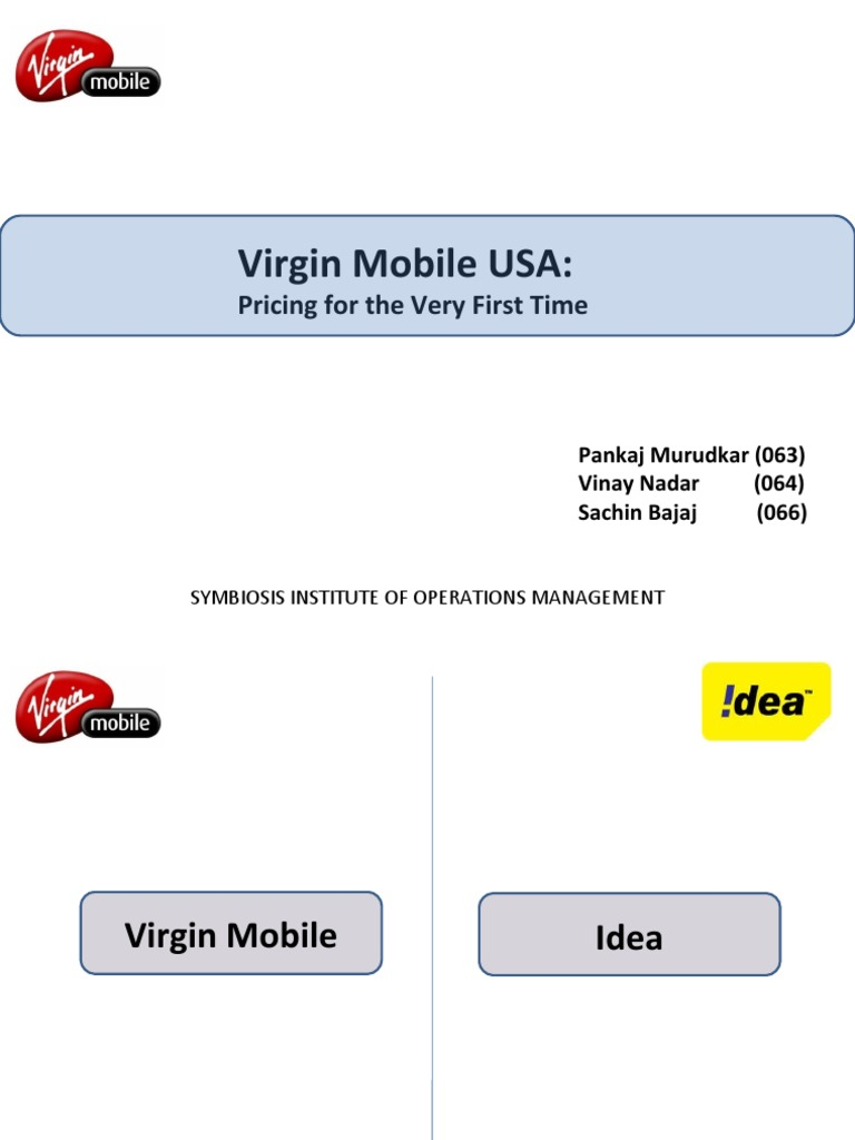 Virgin Mobile USA Netzwerkanbieter