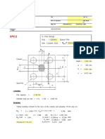 Design of Concrete Pilecap spread sheet Practical engineer