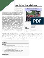 Día Internacional de los Trabajadores - Wikipedia, la enciclopedia libre
