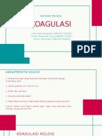 Satuan Proses Koagulasi