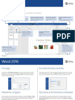 WORD 2016 QUICK START GUIDE
