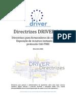 DRIVER Guidelines v2 Final PT