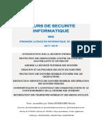 SECURITE INFORMATIQUE_2017_2018