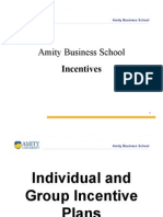Individual and Group Incentive Plans