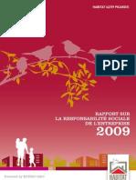 Rapport RSE 2009 Habitat 62/59 Picardie