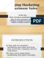 8. Managing marketing for maximum sales.ppt
